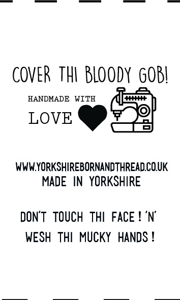 YBT Handmade With Love Labels-Cover Thi Bloody Gob